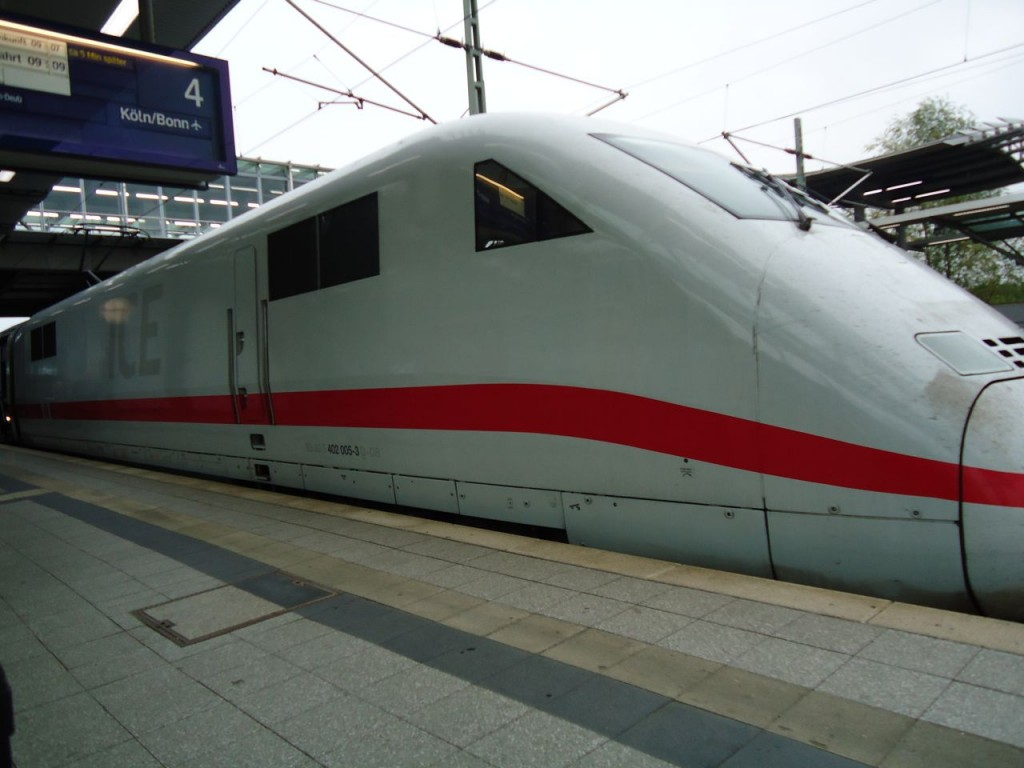 Вот это ICE: InterCity Express