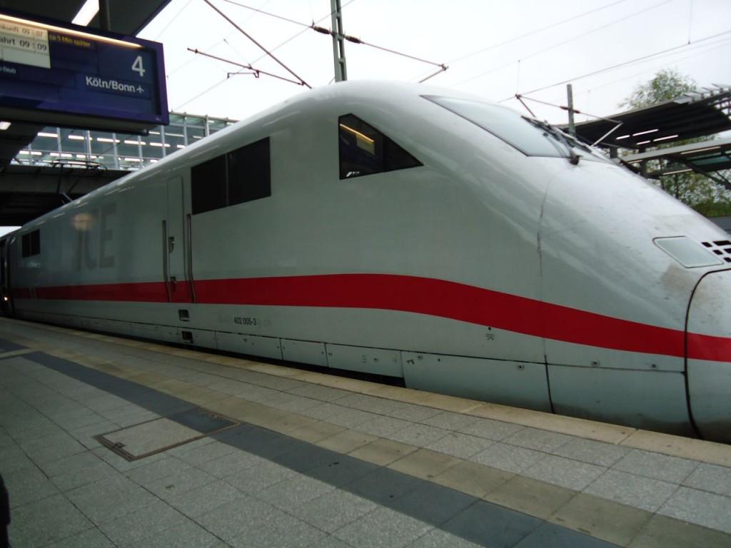 Вот это ICE: InterCity Express